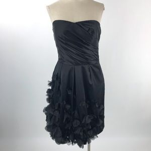 The Limited Womens Appliqué Strapless Dress